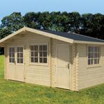 Greenway 4.85m x 3m Darwin Log Cabin