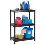 3 Tier Plastic Shelf Unit