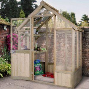 Hartwood 6' x 4' Premium Greenhouse